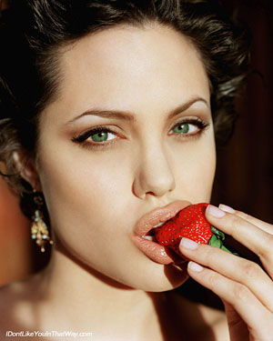 Angelina Jolie inspired