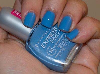 A gorgeous cornflower blue