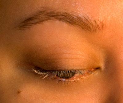 Wearing Urban Decay Eyelash Primer Potion