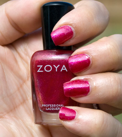 Zoya Sparkle Collection: Alegra (outdoors, no flash)