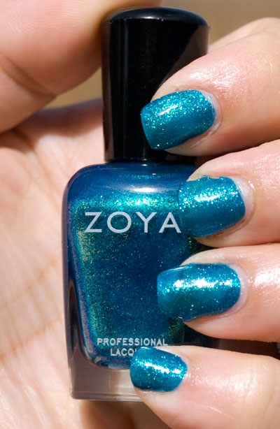 Zoya Sparkle Collection: Charla (outdoors, no flash)