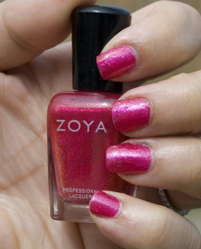 Zoya Sparkle Collection: Gilda (outdoors, no flash)