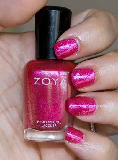 Zoya Sparkle Collection: Gilda (indoors, with flash)