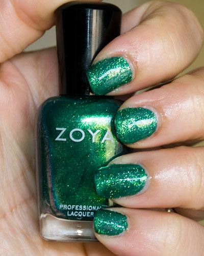 Zoya Sparkle Collection: Ivanka (indoors, with flash)