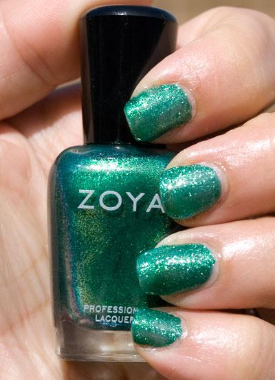 Zoya Sparkle Collection: Ivanka (outdoors, no flash)