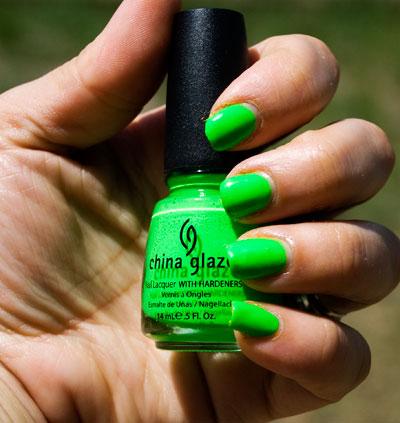 "China Glaze ""Kiwi Cool-ada"""