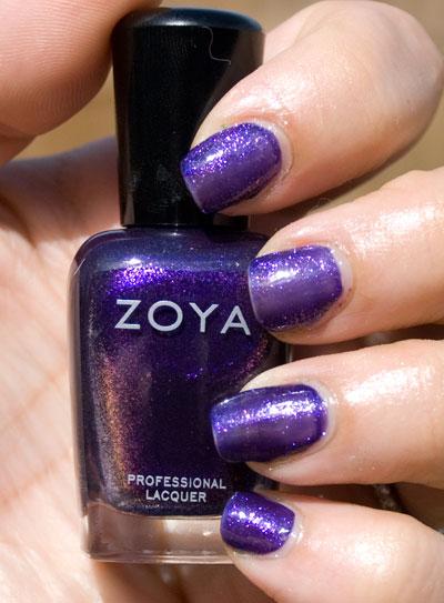 Zoya Sparkle Collection: Mimi (outdoors, no flash)