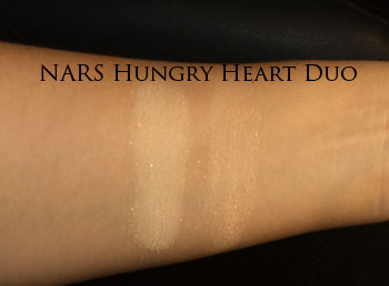 NARS Hungry Heart swatches