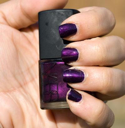 Lookbook: NARS Purple Rain Nail Polish