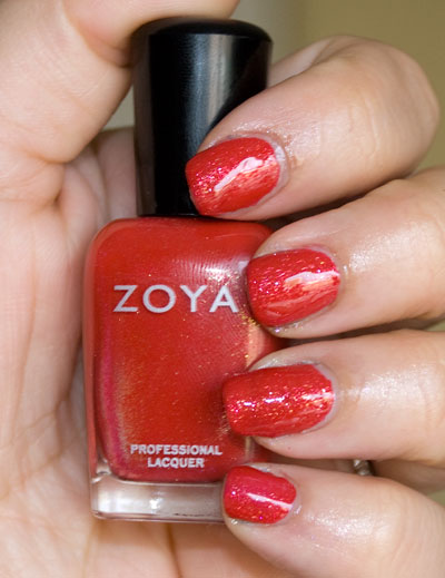 Zoya Sparkle Collection: Nidhi (indoors, with flash)