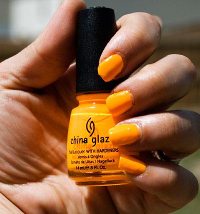"""China Glaze """"Sun Worshiper"""""""