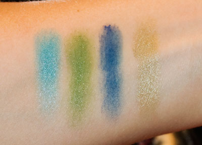 Pigmented Swatches