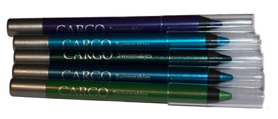Closeup of the eye pencils