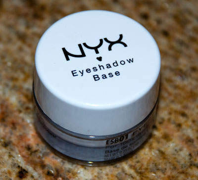 Lookbook: NYX Eyeshadow Base in White base2 NYX