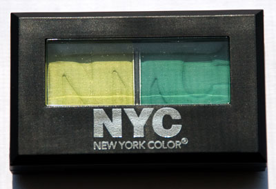 "NYC ""Bowling Green"" Eyeshadow Duet"