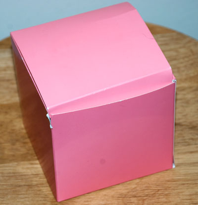 My Pretty Pink Box, upon arrival