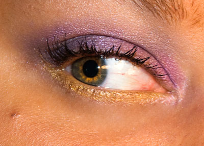 Tutorial: Haute Couture Eye Makeup, featuring Milani Cosmetics eye2