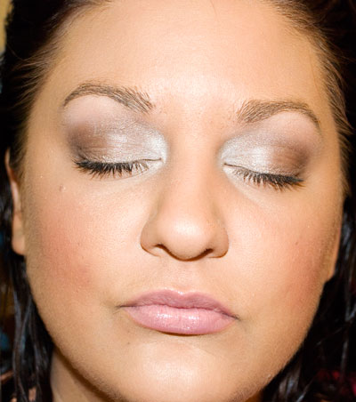 Shimmering Sands Makeup
