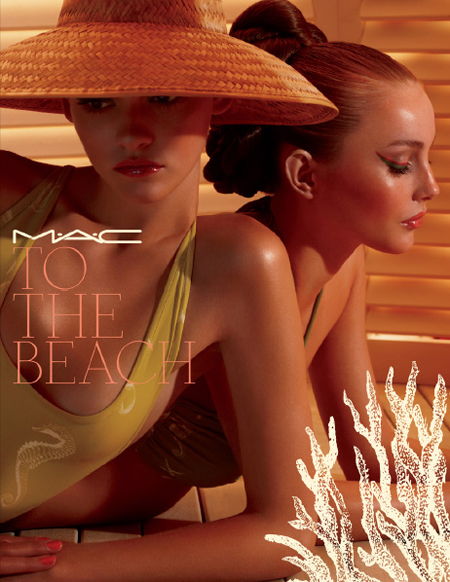 "Lookbook: MAC Cosmetics ""To The Beach"" Collection, Summer 2010 mac to the beach summer 2010 collection promo 1 MAC Cosmetics"