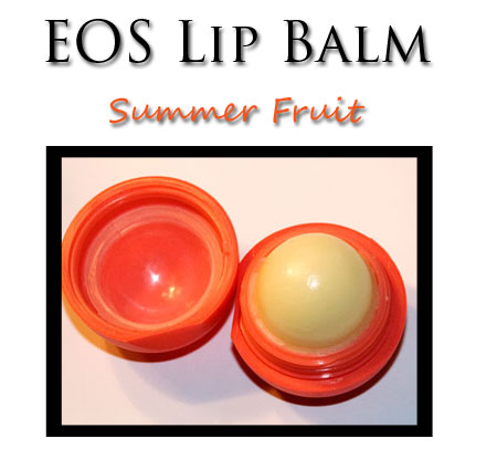 Review: EOS Smooth Sphere Lip Balm in Summer Fruit