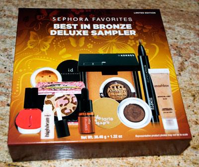 Sephora Favorites Best In Bronze Deluxe Sampler