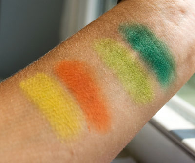 Lookbook: NYC City Duet Eyeshadows, Limited Edition Summer 2010 swatches3