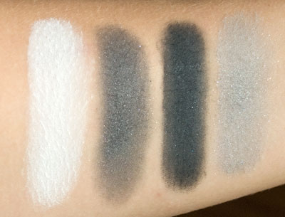 First Row Swatches (with flash)