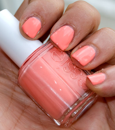Lookbook: Essie Summer 2010 Collection hauteashello1 Vixen Swatches nail polish Haute Essie coral Cocoa