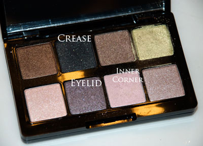 Shade guide for the daytime smokey eye