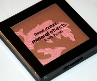 "Femme Couture Mineral Effects Floral Blush in ""Blushing Mocha"""