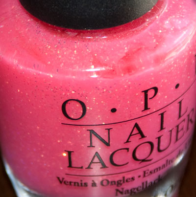 """OPI """"Pink Me I'm Good,"""" was only available for several weeks"""