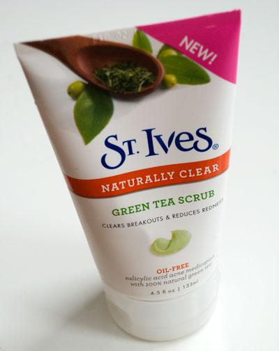 St. Ive's Green Tea Scrub