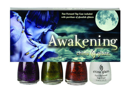 "Lookbook: China Glaze ""Awakening"" Collection, Halloween 2010 Swatches fullset China Glaze"