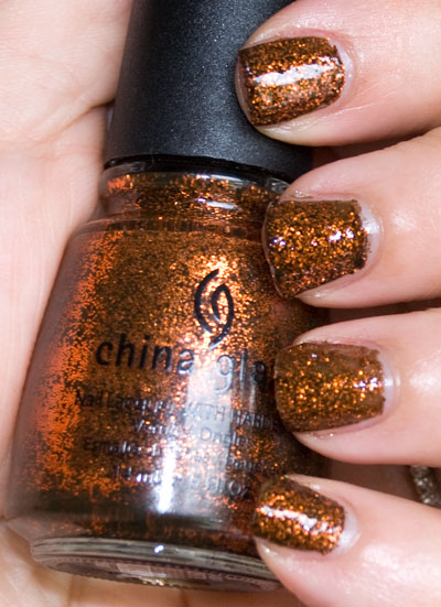 "Lookbook: China Glaze ""Awakening"" Collection, Halloween 2010 Swatches ickabody China Glaze"