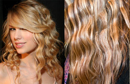 ... Tutorial: Taylor Swift Waves, using Revlon's Triple Barrel Waver