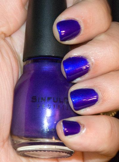 Flashing Both Blue And Purple