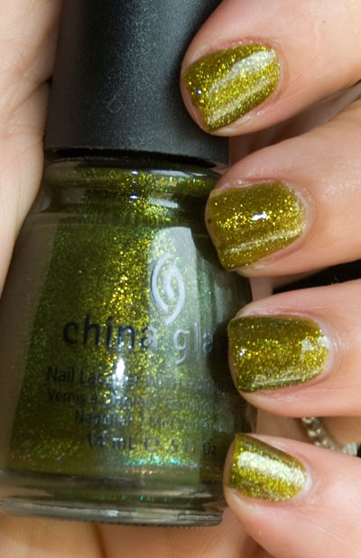 "Lookbook: China Glaze ""Awakening"" Collection, Halloween 2010 Swatches zombiezest China Glaze"