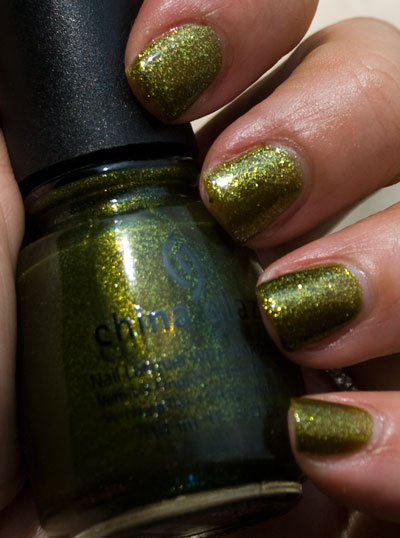 "Lookbook: China Glaze ""Awakening"" Collection, Halloween 2010 Swatches zombiezest2 China Glaze"