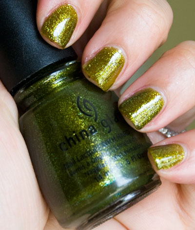 "Lookbook: China Glaze ""Awakening"" Collection, Halloween 2010 Swatches zombiezest3 China Glaze"