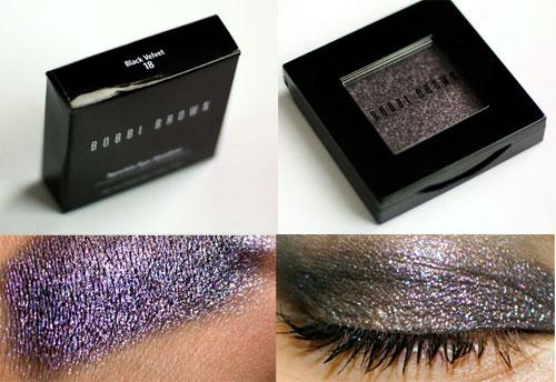 Lookbook Bobbi Brown Sparkle Eyeshadow Black Velvet