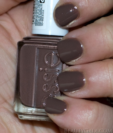 Lookbook Essie Mink Muffs Nail Polish Swatches
