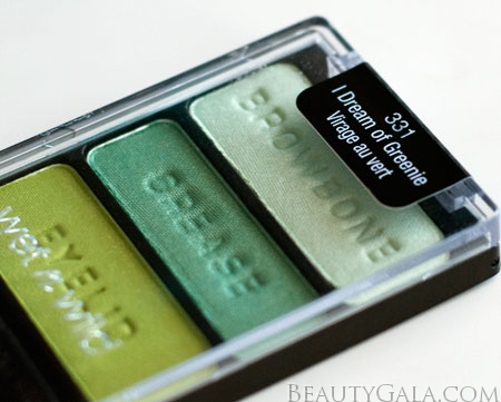 "Lookbook: Wet n Wild Beauty, ""I Dream of Greenie,"" Palette Swatches Trio6 Wet & Wild Feature Columns Eyes Categories Beauty Bargains"