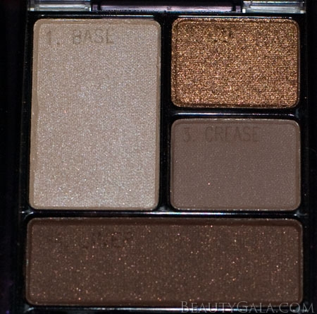 "Lookbook: Maybelline ExpertWear Quad, ""Chai Latte,"" Swatches Chai4 Maybelline Eyes Beauty Bargains"