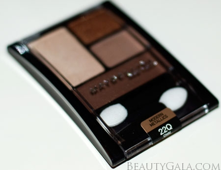 "Lookbook: Maybelline ExpertWear Quad, ""Chai Latte,"" Swatches Chai6 Maybelline Eyes Beauty Bargains"