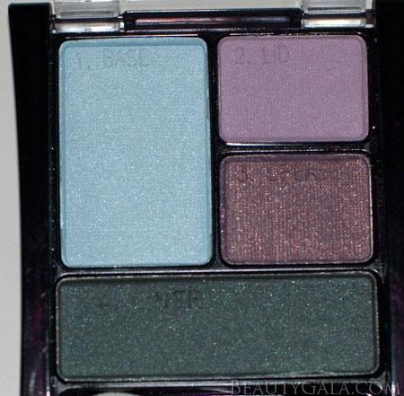 "Lookbook: Maybelline ExpertWear Eyeshadow Quad, ""Seashore Frosts"" Makeup Look Frosts9 Tutorials Maybelline Feature Columns Eyes Categories Beauty Bargains"