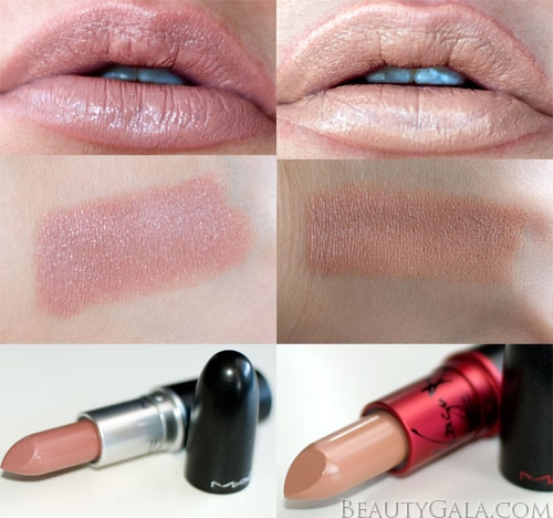 Lookbook: MAC Cosmetics Viva Glam Gaga II Lipstick Swatches Viva17 MAC Cosmetics Lips