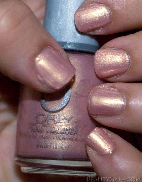 """Spring 2011 Lookbook: Orly Nail Lacquer, """"Gilded Coral"""" Swatches"""