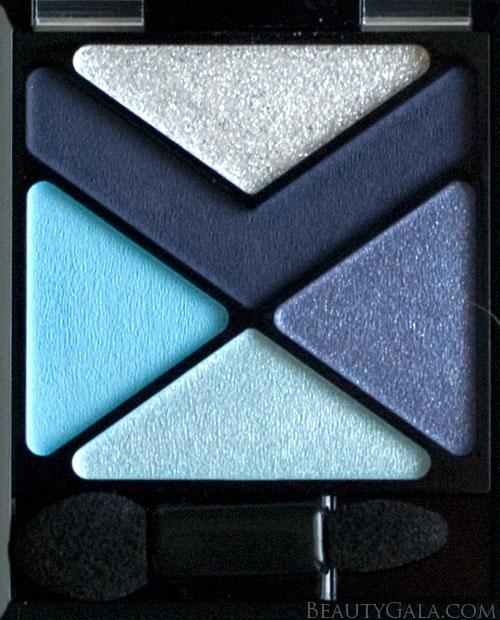 "Lookbook: Maybelline EyeStudio Color Explosion Eyeshadow Palette, ""Blue Blowout,"" Photographs & Swatches blue4 Type Reviews Maybelline Lookbook Eyes Categories Brands"