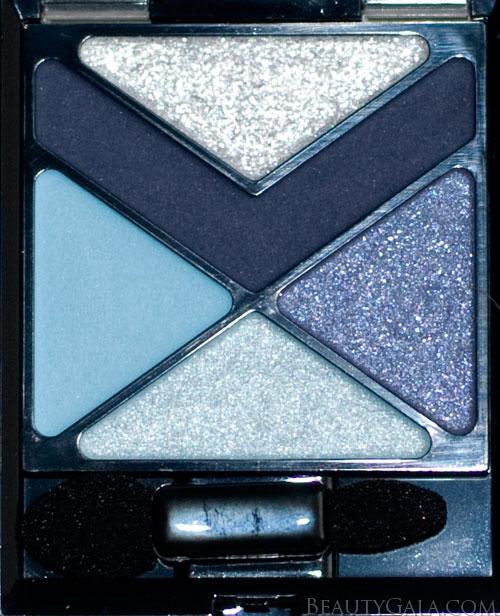 "Lookbook: Maybelline EyeStudio Color Explosion Eyeshadow Palette, ""Blue Blowout,"" Photographs & Swatches blue5 Type Reviews Maybelline Lookbook Eyes Categories Brands"