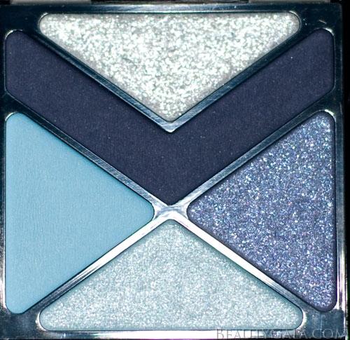 "Lookbook: Maybelline EyeStudio Color Explosion Eyeshadow Palette, ""Blue Blowout,"" Photographs & Swatches blue6 Type Reviews Maybelline Lookbook Eyes Categories Brands"